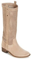 Beige Laarzen Betty London DIVOUI