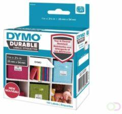 Dymo LW-adresetiketten kunststof 25 x 54 mm wit 1x 160 st.