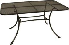 Gartenmoebel-einkauf Tisch RIVO 145x90cm, Streckmetall eisengrau