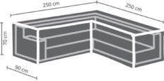 Antraciet-grijze Maxx Lounge set beschermhoes - L 250/90 x 250/90 x 70 cm - L-vormig