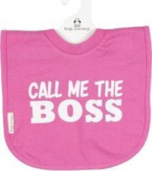 Frogs and dogs Slabber - Call me the boss- roze