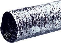 Plieger aluminium/PVC luchtslang brandveilig 125mm 3 meter aluminium 4414027