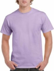 Gildan Lilapaars katoenen shirt voor volwassenen L (40/52)