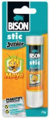 Bison Junior Maya plakstift 21 g, op blister