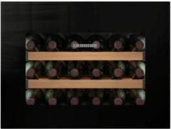 Liebherr WKEgb 582 GrandCru Ingebouwd Zwart 18 fles(sen)