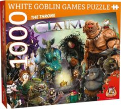 White Goblin Games legpuzzel Claim Puzzle: The Throne 1000 stukjes