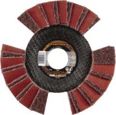 Rhodius 209504 Rhodius VSK getande waaierschijf met vlies 125 x 22,23 mm Diameter 125 mm 1 stuk(s)