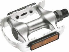 Zilveren Union Platformpedaal Mtb 910 9/16 Inch Met Reflector Set