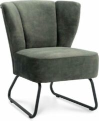 Groene Happy Chairs - Fauteuil Enrique - Velvet Hunter