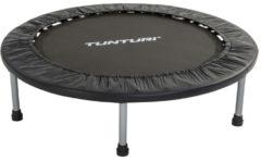 Zwarte Tunturi Funhop Fitness trampoline - Mini trampoline 95 cm