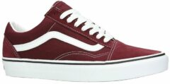 Bordeauxrode Lage Sneakers Vans OLD SKOOL
