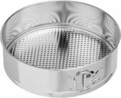 La Cucina RVS springvorm set / zilverkleurig / set van 3 / rond / vierkant / hart