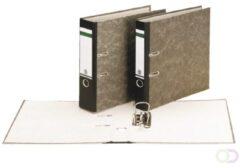 Ordner Leitz 1052 Folio 50mm karton gewolkt zwart