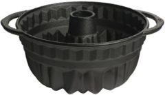 Zwarte Attica tulband bakvorm 27,5 cm (Ø 21,5 cm) - gietijzer