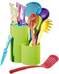 11-tlg. Messer- und Küchenhelferset 'Auriga' Esmeyer Multicolor