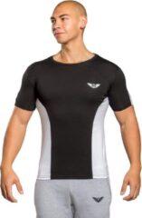 Aero wear Equinox - T-shirt - Zwart -Wit - XL