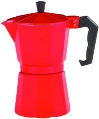 Alu-Espressokocher ROSSO rot 6 T. Krüger rot