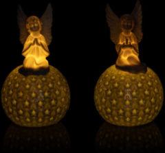 Lumesso Keramik-Kugeln mit Engel & LEDs
