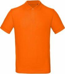 Bc B&C Heren Oranje Polo REGULAR FIT Maat XXL 100 % Katoen