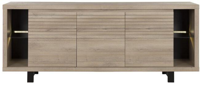 Afbeelding van Gamillo Furniture Dressoir Clay 220 cm breed in Kronberg eiken