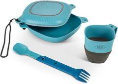 Blauwe Matix UCO - Mess Kit - 6 delig - Blue