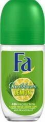 Fa Deodorant Roller Caribbean Lemon 6-pack (6x50ml)