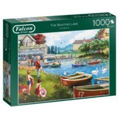 Zwarte Jumbo Falcon puzzel The Boating Lake - Legpuzzel - 1000 stukjes