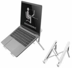 Laptopstandaard NewStar NSLS010 opvouwbaar Zilver