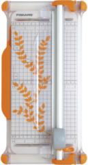 Oranje Fiskars draagbare Ø28mm snijmachine A4 - 30 cm