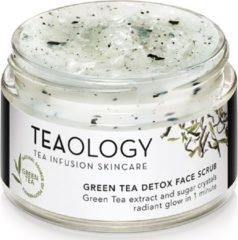 Teaology groen Tea Detox Face Scrub Gezichtsscrub 50 ml