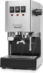 Roestvrijstalen Gaggia - New Classic Pro- Handmatige Espressomachine