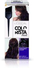 Paarse L'Oréal Paris Colorista Paint - Purple Black - Permanente Haarkleuring