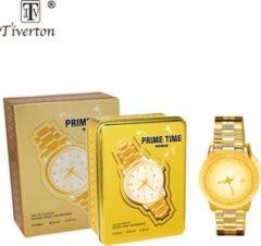 Prime time gold Eau de Parfum 100 ml By tiverton