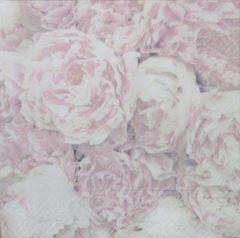 Roze Sagen Vintage Design Servetten Sagen 80060 33 x 33 cm