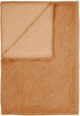 Bruine Essenza Roeby - Bedsprei - Eenpersoons - 150x200 cm - Leather Brown