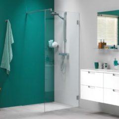 Sealskin Get Wet I AM inloopdouche 120x200cm chroom zilver hoogglans helder glas voorzien van sealglas CKA31206335100