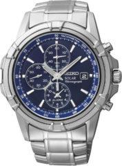 Zilveren Seiko SSC141P1 - Horloge - Ø 42 mm - Zilverkleurig - Solar uurwerk