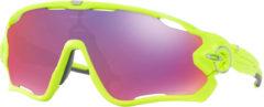 Paarse Oakley Jawbreaker zonnebril (Prizm Road glazen, Retina Burn montuur) - Zonnebrillen