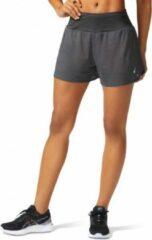 Asics - Women's Ventilate 2-n-1 3.5in Short - Hardloopbroek maat S, zwart/bruin