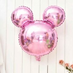 Roze Kindercrea Mickey mouse
