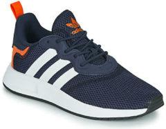 Adidas Originals X PLR S J sneakers donkerblauw/oranje