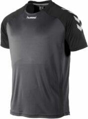 Hummel Aarhus Shirt Sportshirt Kinderen - Grijs;Zwart;Wit