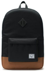 Herschel Supply Co. Heritage Rugzak black/saddle brown backpack