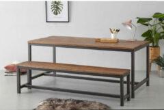 Bruine Whkmp's own Eettafel Dakota 180 cm
