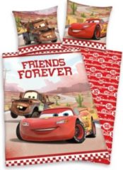 Herdings young collection Renforce-Kinder-Bettwäsche, 2-tlg., Disneys Cars-Friends Forever, 80x80/135x200 cm