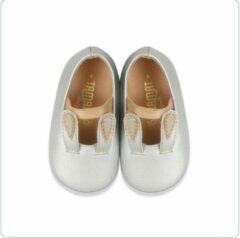 Zilveren Tamago shoes Lente/Zomer Baby schoen Meisje Bunny Ears 13 cm schoenmaat 20/21 - 12 tot 16 maanden Silver