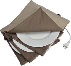 Solis 865 Bordenwarmer - 32cm - Taupe/Antraciet Kookaccessoires
