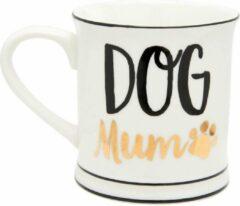 Gouden Dog mom tas beker - Sass & Belle