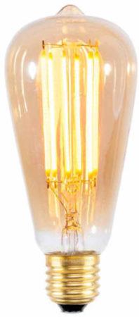 Afbeelding van It's About RoMi LED lamp langwerpig - gloeidraad Goldline - E27/4W - 320Lm/2100K - 25.000u -dimbaar