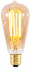 It's About RoMi LED lamp langwerpig - gloeidraad Goldline - E27/4W - 320Lm/2100K - 25.000u -dimbaar